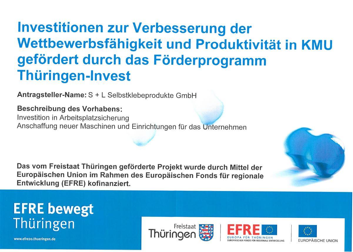 Förderung Investitionen zur Verbesserung der Wettbewerbsfähigkeit und Produktivität in KMU