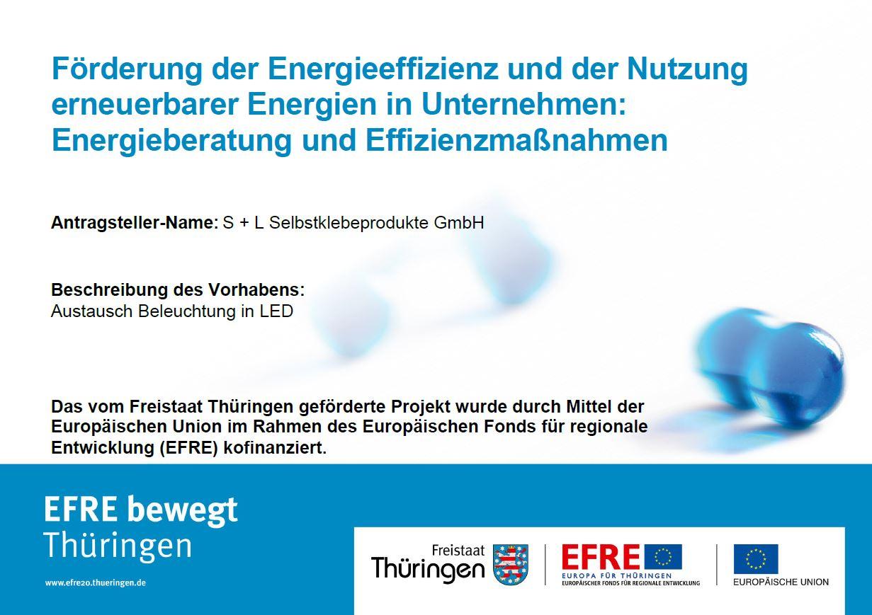 Förderung der Energieeffizienz und der Nutzung erneuerbarer Energien im Unternehmen_Austausch Beleuchtung in LED